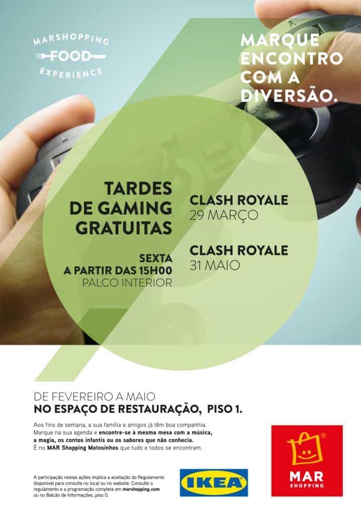 "MAR Shopping Matosinhos promove minitorneiro de ""Clash Royale"""