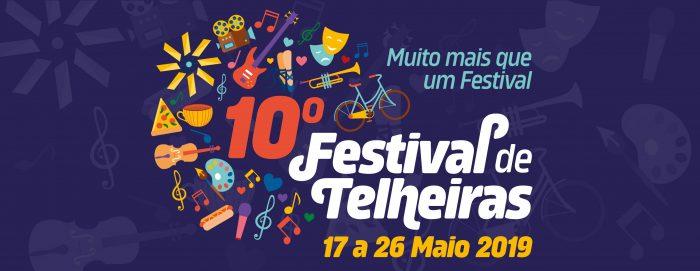 2019 é ano da 10ª edição do Festival de Telheiras! 10 edições de sucessos e desafios
