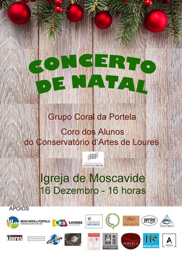 CONCERTO DE NATAL   MOSCAVIDE