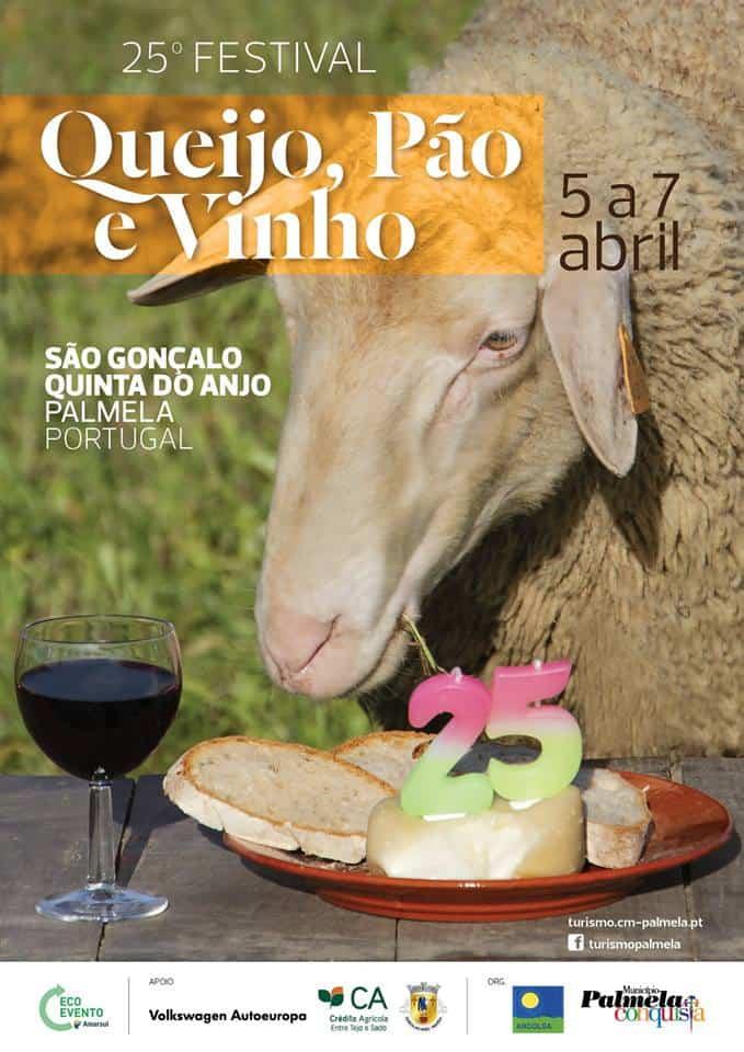 25.º FESTIVAL QUEIJO, PÃO E VINHO 2019 – PALMELA