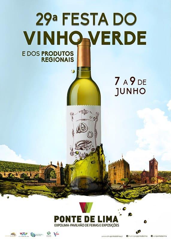 FESTA DO VINHO VERDE E DOS PRODUTOS REGIONAIS 2019 PONTE DE LIMA