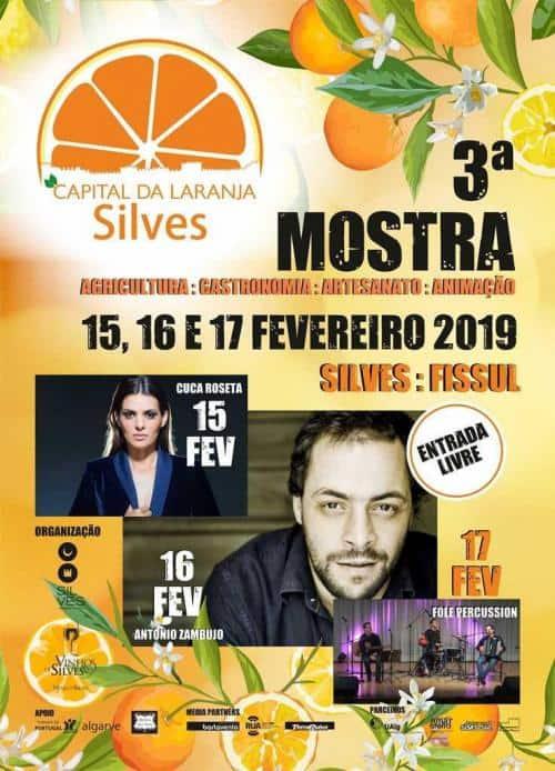 3ª MOSTRA SILVES CAPITAL DA LARANJA 2019