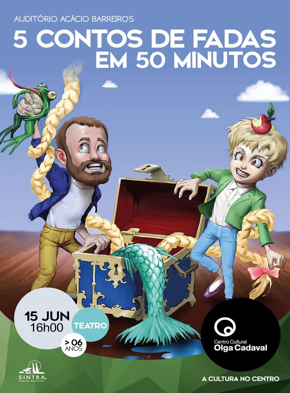5 CONTOS DE FADAS EM 50 MINUTOS