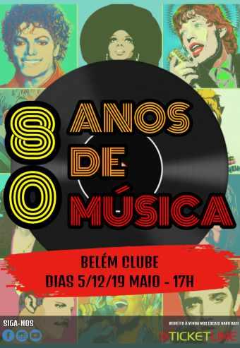 80 ANOS DE MÚSICA | BELÉM CLUBE