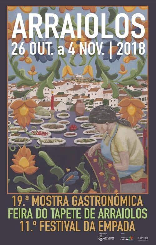 MOSTRA GASTRONÓMICA – FEIRA DO TAPETE – FESTIVAL DA EMPADA | ARRAIOLOS 2018