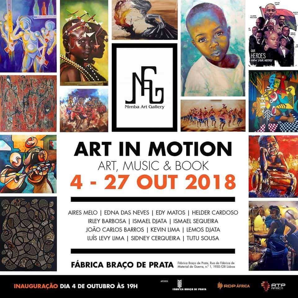 ART IN MOTION BY NIMBA ART GALLERY | FÁBRICA DE BRAÇO DE PRATA