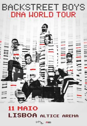 BACKSTREET BOYS – DNA WORLD TOUR | ALTICE ARENA