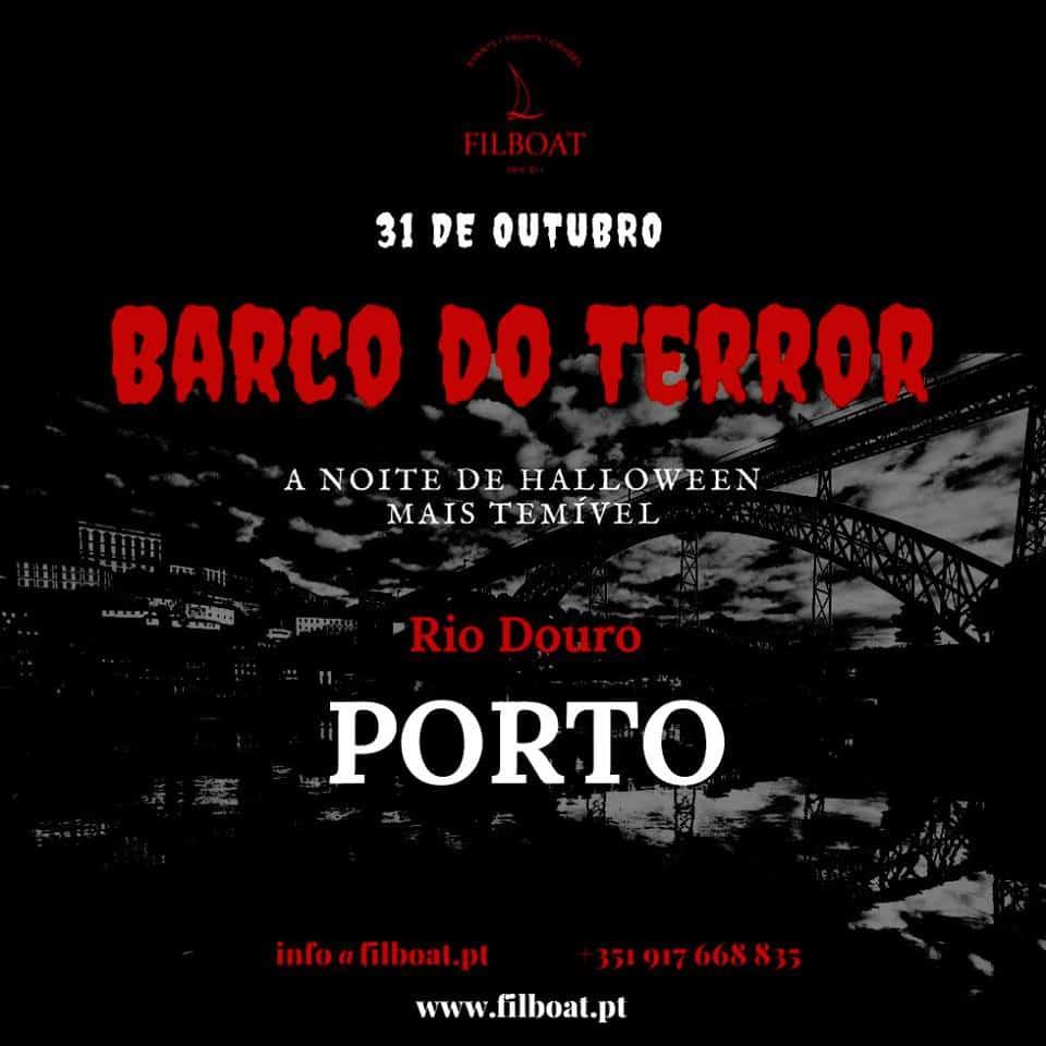 BARCO DO TERROR 2018 – NOITE DE HALLOWEEN NO RIO DOURO