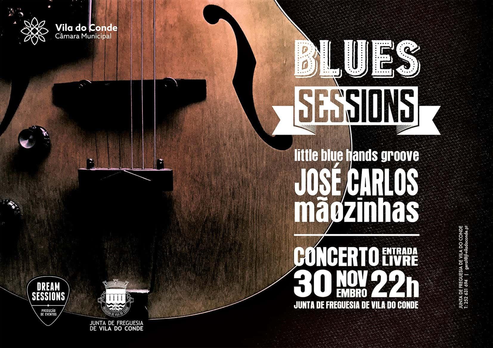 As grandes noites deBluesem formato acústico estão de volta a Vila Do Conde.José Carlos Mãozinhasé o bluesman escolhido para aBlues Sessionsde 30 de novembro