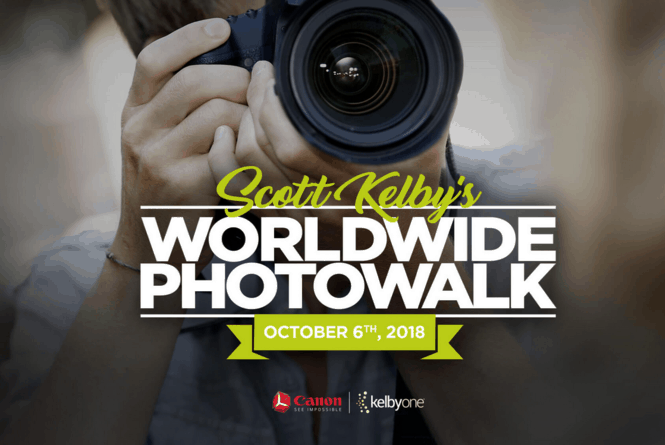Há 11 anos que o fotógrafo norte-americanoScott Kelbyorganiza uma caminhada fotográfica