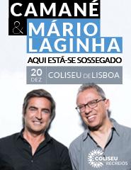 MÁRIO LAGINHA E CAMANÉ | AQUI ESTÁ-SE SOSSEGADO