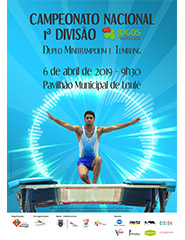 Campeonato Nacional 1ª Divisão – Duplo Minitrampolim e Tumbling