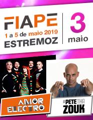 FIAPE 2019 – 03 Maio – Amor Electro – Pete tha Zouk