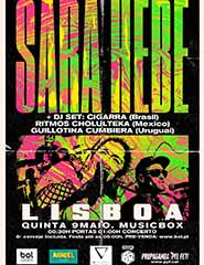 Sara Hebe, Ritmos Cholulteka & Guillotina, Cumbiera e Cigarra