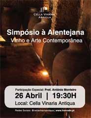 Simpósio à  Alentejana – Vinho e Arte Contemporânea