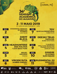 34ª Semana Académica do Algarve – Dia 9 de Maio