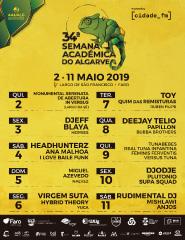 34ª Semana Académica do Algarve – Dia 11 de Maio