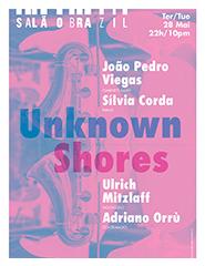"""Viegas / Corda / Orrù / Mitzlaff """"Unknown Shores"""""""