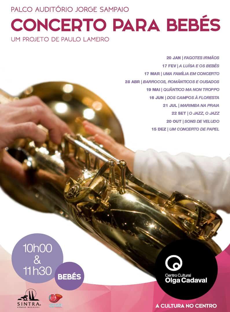 Concertos para Bebés 2019 | OLGA CADAVAL