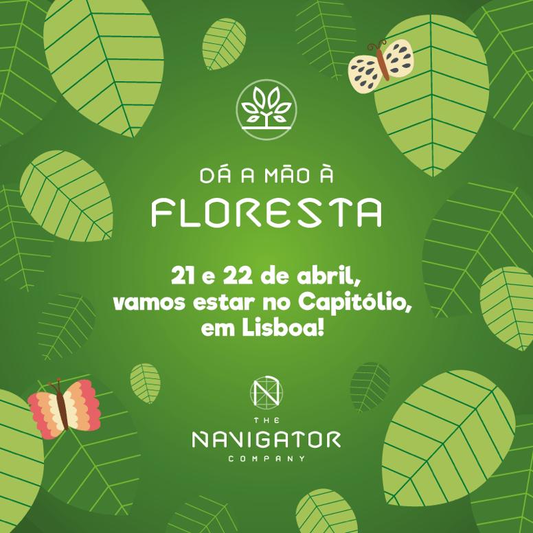 O Dá a Mão à Floresta vai estar presente no 'VISÃO FEST'