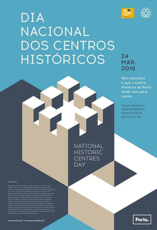 ODia Nacional dos Centros Históricosassinala-se oficialmente a 28 de março mas há já alguns anos que no Porto é celebrado no sábado mais próximo da data