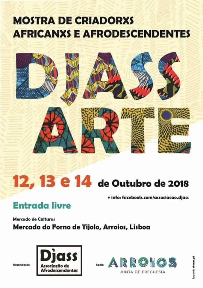 DJASS ARTE – MOSTRA DE CRIADORXS AFRICANXS E AFRODESCENDENTES