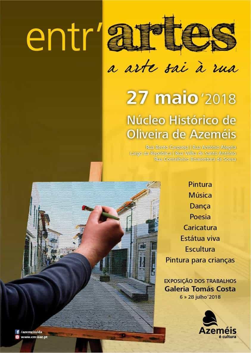 Entr'Artes é uma manifestação artística promovida pelo Município de Oliveira de Azeméis