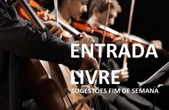 """Entrada Livre sugere em Lisboa o concerto dos Solistas da Orquestra Gulbenkian e a Exposição """"Intrínseco"""" de VHILS. No Porto"""