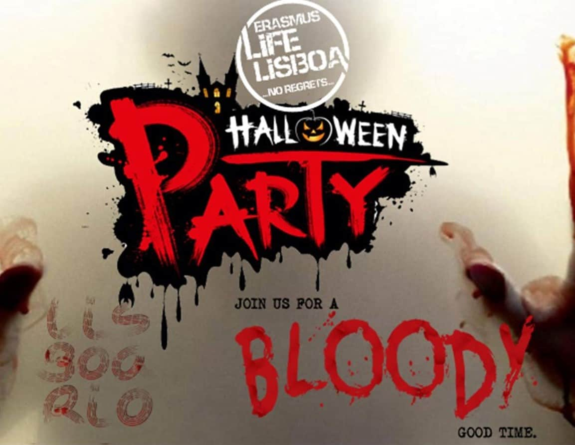 ERASMUS HALLOWEEN PARTY LISBOA 2018