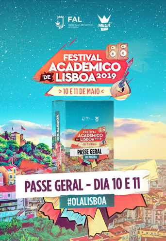 FESTIVAL ACADÉMICO DE LISBOA 2019 – PASSE GERAL