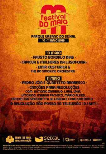 FESTIVAL DO MAIO 2019 – PASSE 2 DIAS   SEIXAL