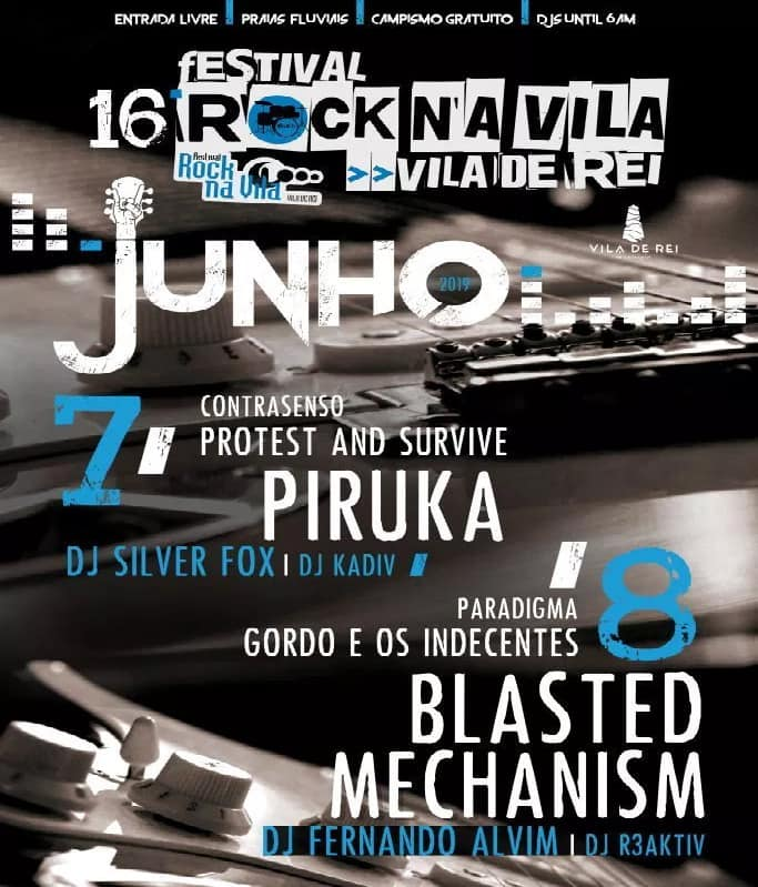 FESTIVAL ROCK NA VILA 2019 | VILA DE REI