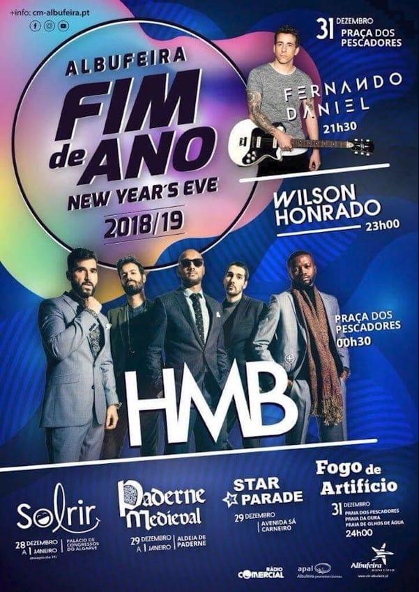 PASSAGEM DE ANO 2018/2019 | ALBUFEIRA