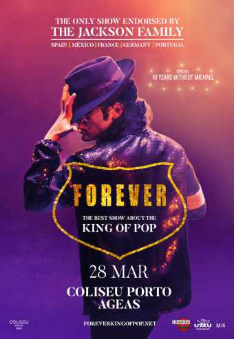 FOREVER KING OF POP 2020 | COLISEU PORTO AGEAS