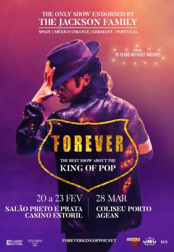 FOREVER KING OF POP 2020 | CASINO ESTORIL