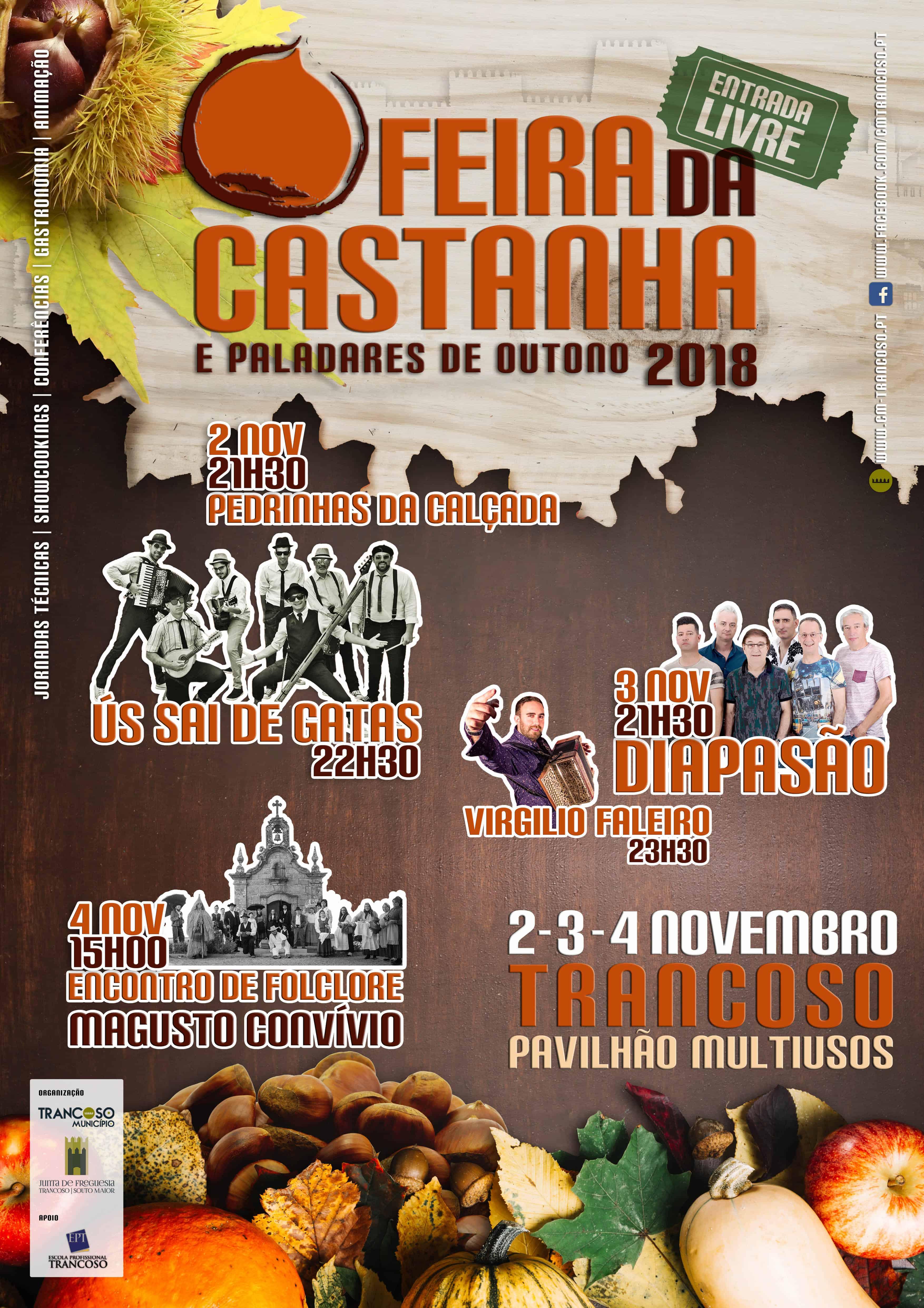 FEIRA DA CASTANHA E DOS PALADARES DE OUTONO 2018 | TRANCOSO