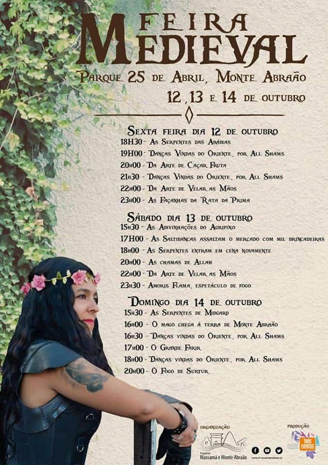 FEIRA MEDIEVAL DE MONTE ABRAÃO 2018   QUELUZ