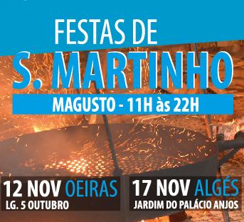 FESTA DE SÃO MARTINHO | ALGÉS
