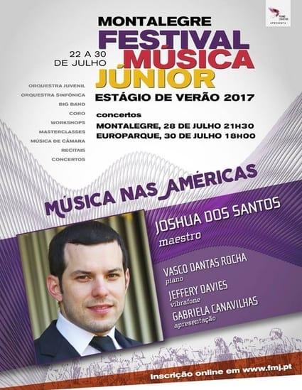O FESTIVAL MÚSICA JÚNIOR realiza em 2017 a sua VI Edição