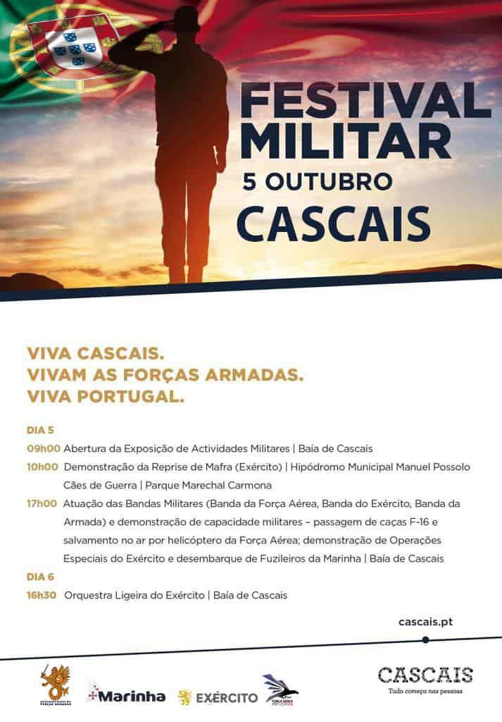FESTIVAL MILITAR –  5 DE OUTUBRO | CASCAIS