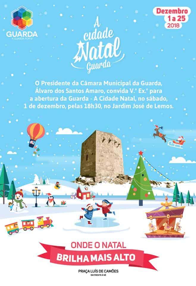 A CIDADE NATAL 2018 | GUARDA