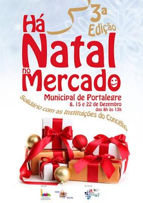 HÁ NATAL NO MERCADO 2018 | PORTALEGRE