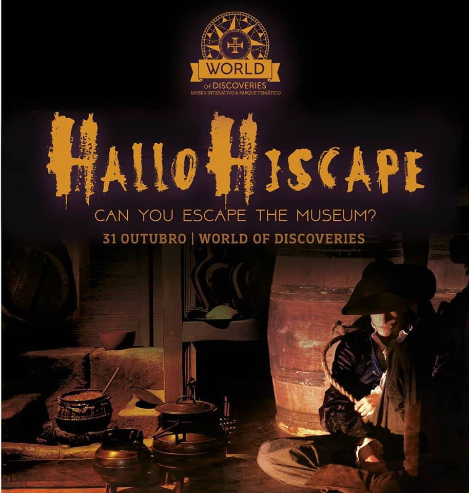 HALLOHISCAPE – CAN YOU SCAPE THE MUSEUM? | HALLOWEEN 2018