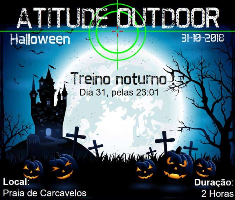 HALLOWEEN OUTDOOR 2018 | PRAIA DE CARCAVELOS