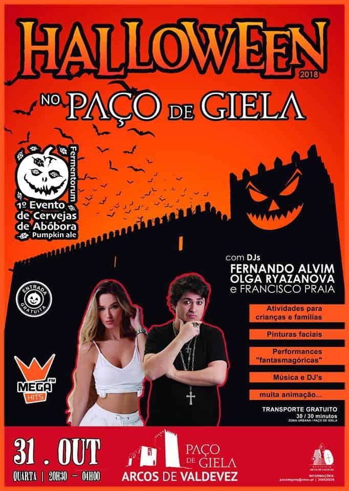 HALLOWEEN NO PAÇO DE GIELA 2018 | ARCOS DE VALDEVEZ