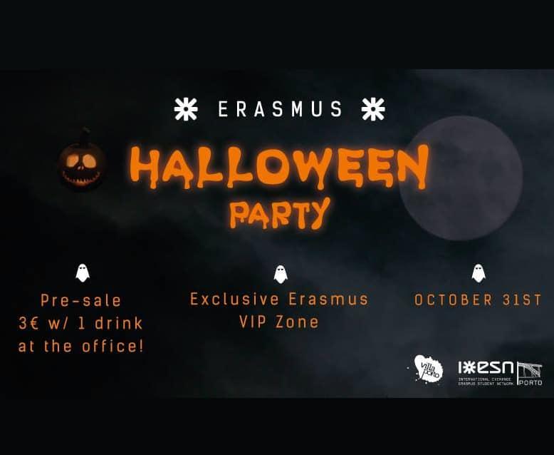 ERASMUS – HALLOWEEN PARTY 2018 – ESN PORTO