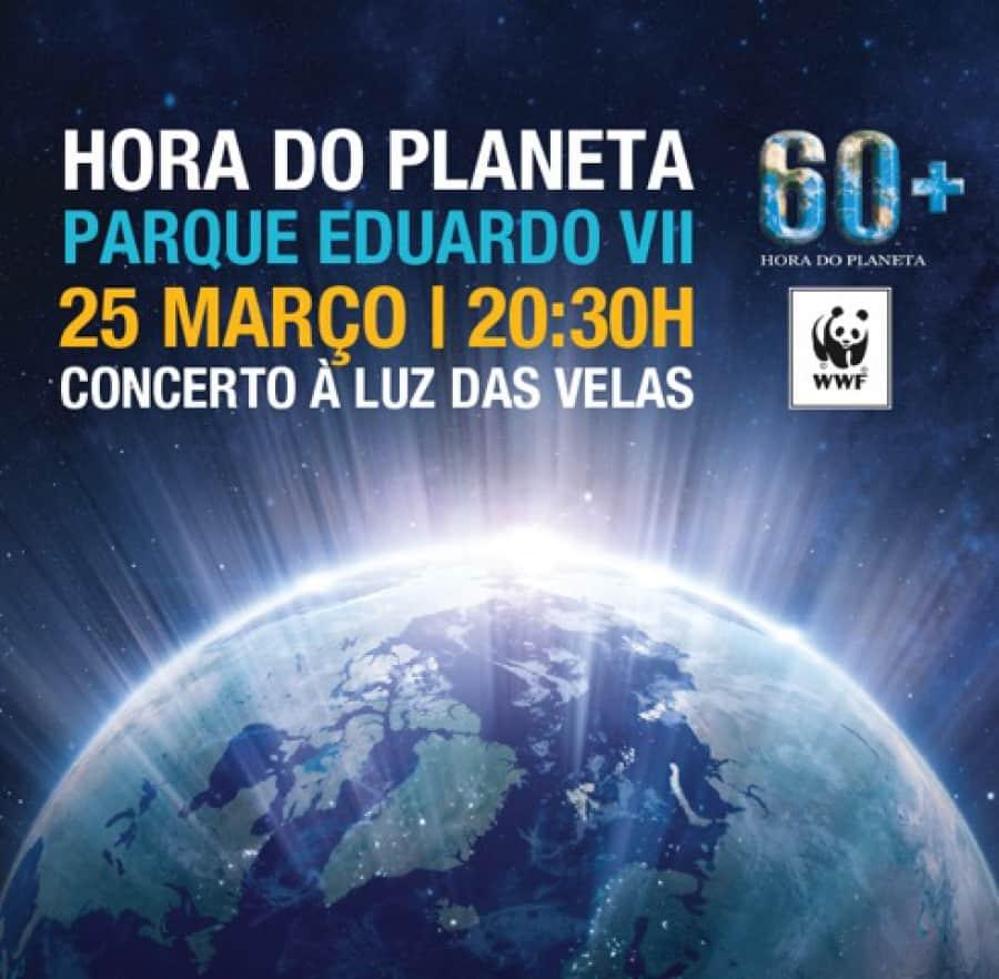 Hora do Planeta no Parque Eduardo VII dia 25 de março a partir das 20:00