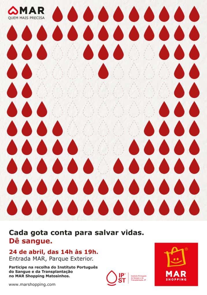 Amar quem mais precisa também passa por dar sangue: cada gota conta!