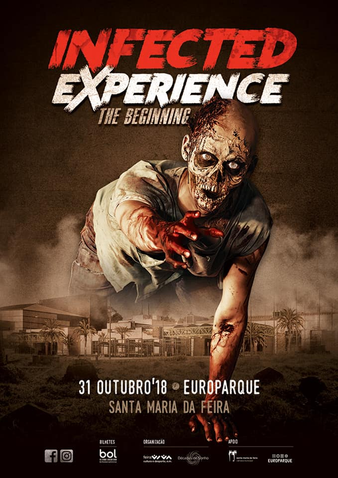 INFECTED EXPERIENCE   HALLOWEEN 2018   EUROPARQUE