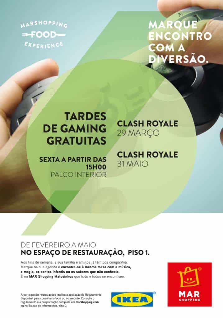 """MINITORNEIO DE """"CLASH ROYALE"""" NO MAR SHOPPING MATOSINHOS"""